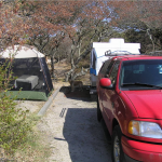RIG 1: One camper, but four tow vehicles