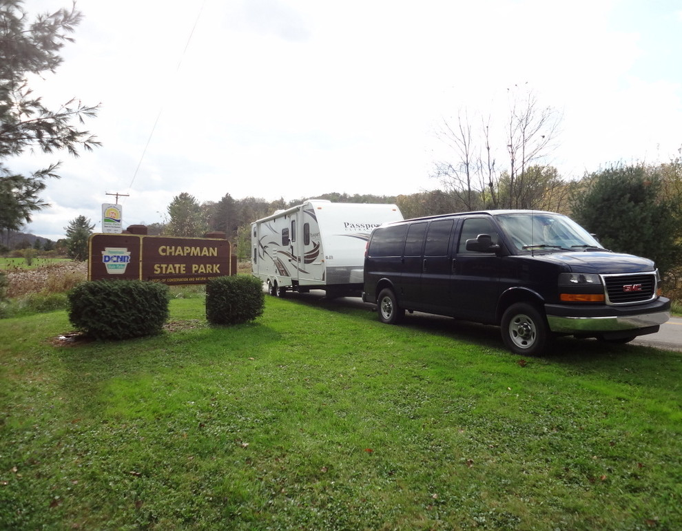 Chapman State Park Clarendon Pa The Touring Camper