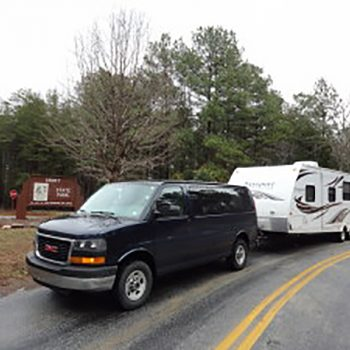 RIG 3: Our current camper and van