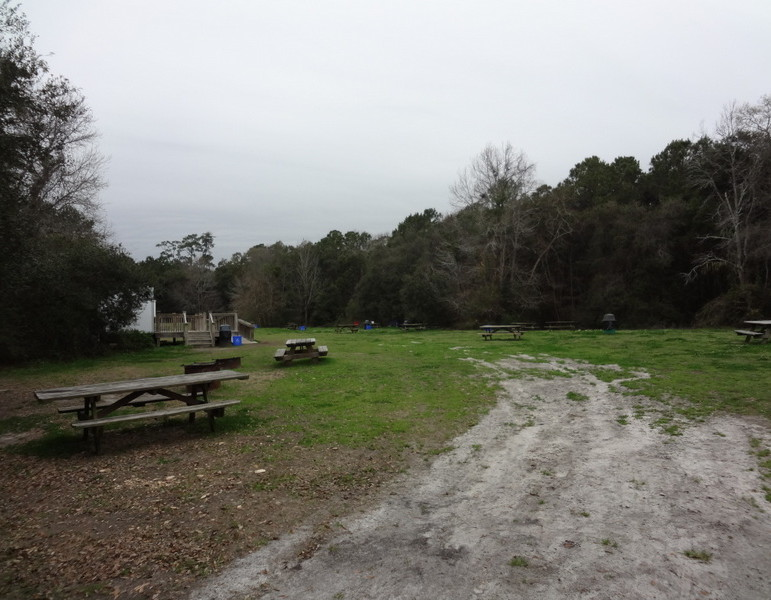 James Island County Park Camping