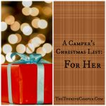 A Camper's Christmas List: For Her