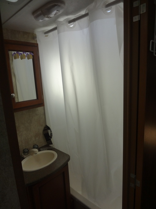 RV Shower Curtain Replacement
