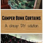 Camper Bunk Curtains