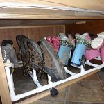 Space Saving Strategies: Shoe Storage
