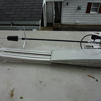 Installing a cell antenna booster