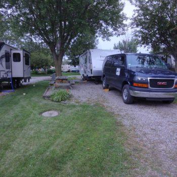 Interstate RV Park, Davenport, Iowa