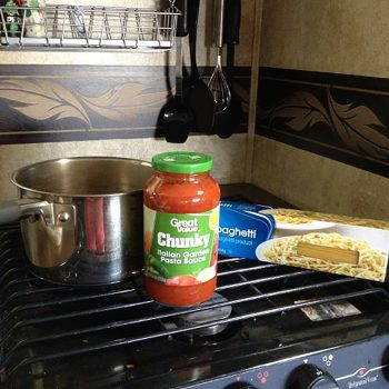 """The """"keep-it-simple"""" camping meal plan"""