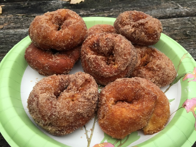 Donut in a plate | Savory Campfire Recipes For Delicious Meals Outdoors