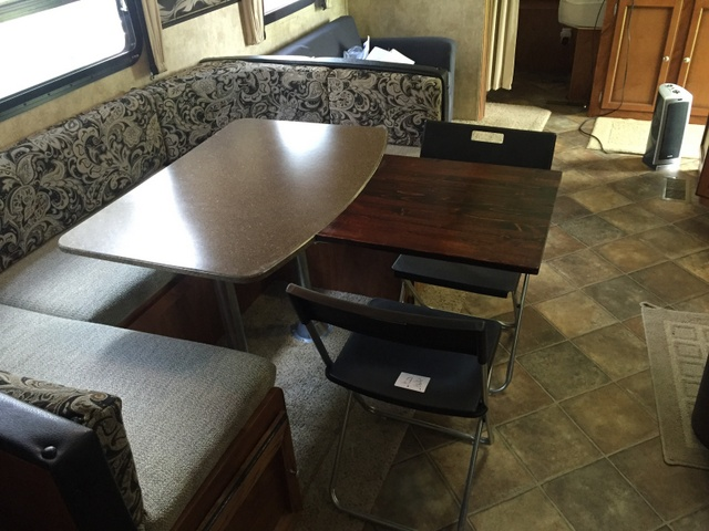 Make room for more at your camper table!
