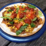 Monthly Morsel: Gluten-Free Tex-Mex Pizza