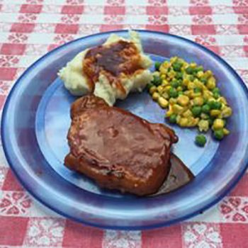 Monthly Morsel: Ponderosa Pork Chops