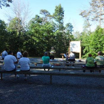 Monthly Ministry: Campground worship services