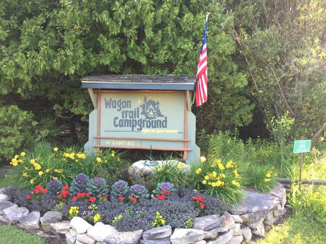 Wagon Trail Campground, Door County, Wis.