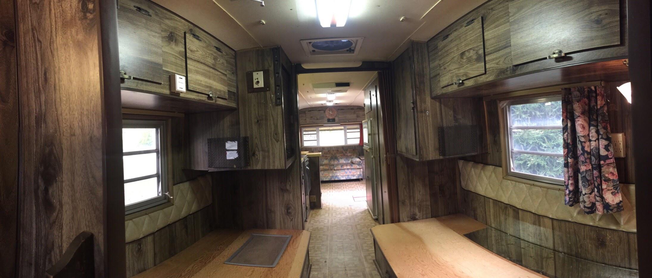 Building bunks for a vintage camper - The Touring Camper