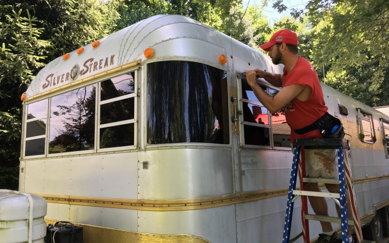 Simple tips for resealing a vintage camper