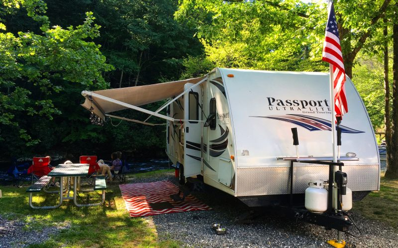 River Valley Campground, Cherokee, N.C.